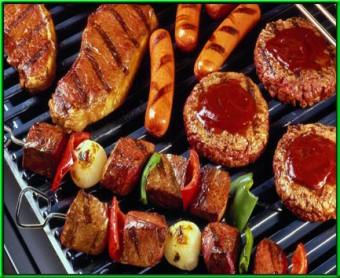 Barbecue vrijgezellenfeestjes