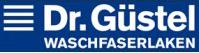 Logo van Dr. Güstel om aan te geven dat wij wasvezellakens van dit merk gebruiken