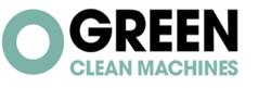 Logo van Green Clean Machines om aan te geven dat wij luchtzuiveringsmachines van dit merk gebruiken